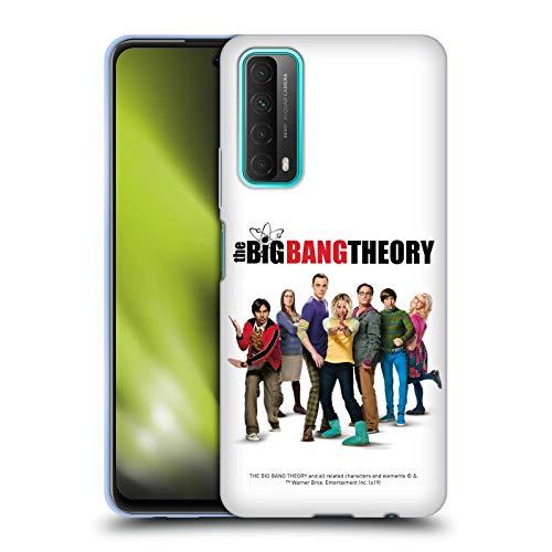 Head Case Designs Offiziell Zugelassen The Big Bang Theory Staffel 10 Schluessel Kunst Soft Gel Handyhülle Hülle Huelle kompatibel mit Huawei P Smart (2021)