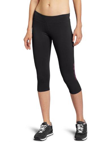 Zumba Fitness LLC Bliss Capri Legging, Damen, schwarz, Medium