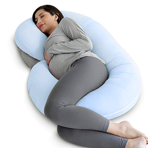 PharMeDoc Full Body Pregnancy Pillow - Maternity Pillow for Pregnant Women - C Shaped Body...