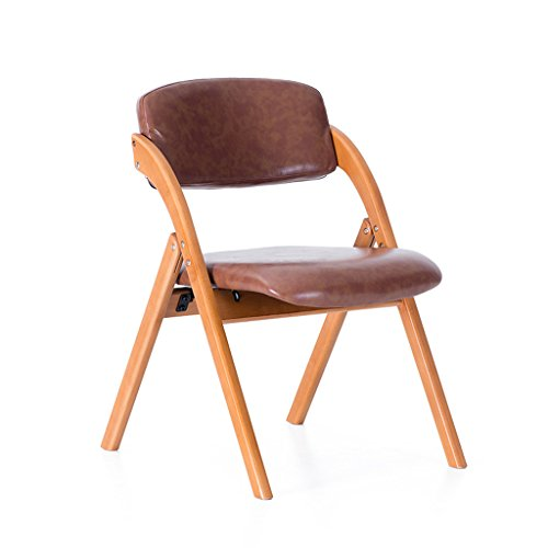 CJH Solid Wood Vouwstoel Rugleuning Huishoudelijke Eettafel Kruk Nordic Minimalistische Cafetaria Stoel