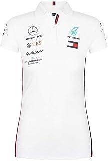 Mercedes-AMG Petronas Motorsport 2019 F1 Women's Team Polo Shirt White