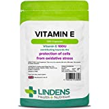 Vitamin E (dl-alpha tocopherol) 100IU Capsules (200 pack) by Lindens