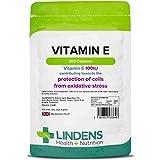 Lindens Vitamine E 100 UI en gélules | 200 Lot | Antioxydant puissant contribuant à la protection des cellules contre le stress oxydatif