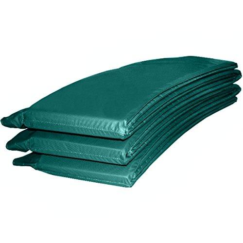 Baunsal GmbH & Co.KG Randabdeckung Federabdeckung Randschutz Abdeckung grün für Trampolin 366 bis 370 cm