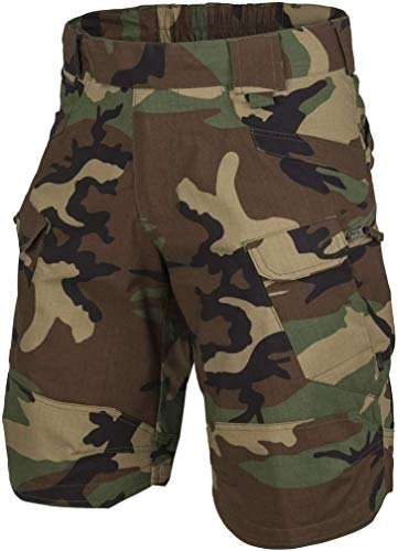 Helikon-Tex Uomo Urban Tactical Pantaloncini 11' US Woodland Taglia L