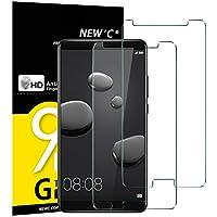 NEW'C 2 Unidades, Protector de Pantalla para Huawei Mate 10 Vidrio Cristal Templado