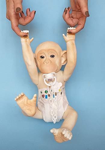 Baby Chimp Bebe Reborn de Chimpancé Albino babychimp.es