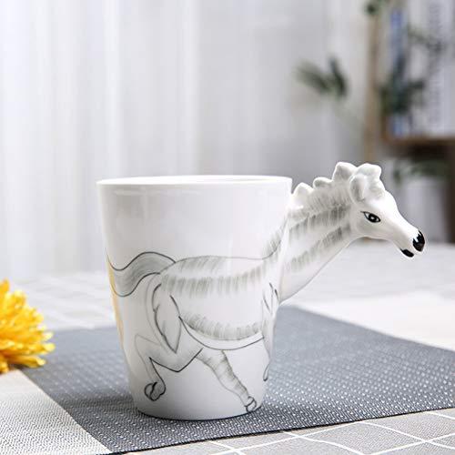 LWBN Taza Café, Tazas Desayuno Originales De Profesiones Porcelana De Agua Juego De Tazas De CeráMica De Té Ideal para Todos Los Hogares - Sirve Bebidas Calientes, Té De La Tarde -43