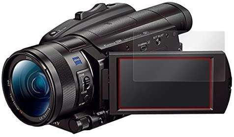 SONY デジタルビデオカメラ ハンディカム FDR-AX700 / FDR-AX100 用 高硬度9H素材採用 日本製 傷がつきにくい 高光沢液晶保護フィルム OverLay Plus 9H O9HBFDRAX700/12