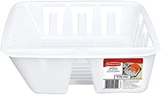 rubbermaid twin sink dish drainer