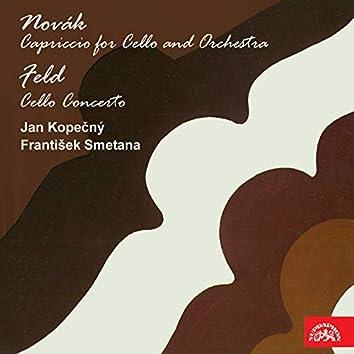 Novák: Capriccio for Cello and Orchestra - Feld: Cello Concerto