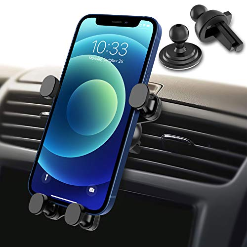 Syncwire Car Phone Holder - Gravity Linkage Mobile Phone Holder Auto Lock 360° Rotation Universal...