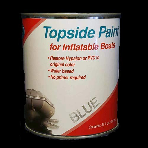 Inland Marine USA Topside Paint for Inflatable Boats and Dinghies (White, Quart)