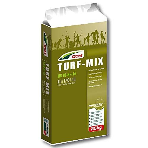 Cuxin Dcm Turf-Mix 25 kg Minigran Engrais de Gazon pour Sport et Golfplatz