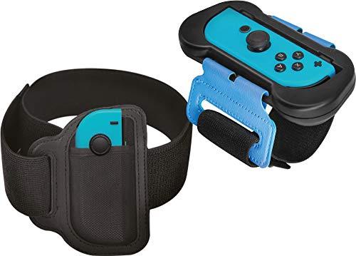 Numskull Nintendo Switch Ring Fit & Just Dance Leg e Arm Joy-Con Strap Accessorio per la cinghia Joy-Con