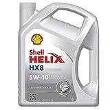 Olio Shell Helix Hx8 5w40 4lt Lubrificante auto...