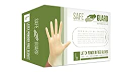 SAFE WITH FOOD SERVICE: Compliant with 21 CFR 177 for use in Food Service DURABLE: Durable, highly elastic, and puncture resistant NON-STERILE: These gloves are non sterile MULTIPLE USES: Great for commercial use, concession stands, food service, sch...