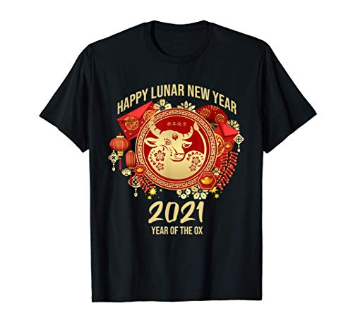 Happy Lunar New Year 2021 - Year Of The Ox T-Shirt