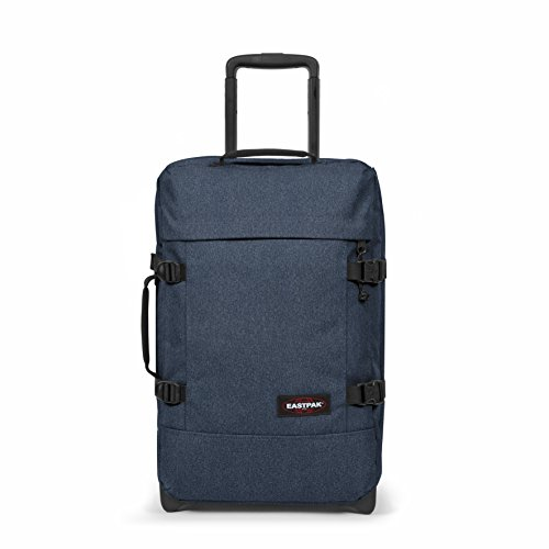 Eastpak Tranverz S, Bagaglio a mano Unisex - Adulto, Blu (Double Denim-L82D), 42 liters, Taglia Unica (51 centimeters)