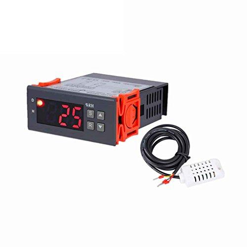 Lorsoul MH13001 AC220V 1% HR - Controlador de Humedad en Aire Digital de Humedad Relativa del 99%, la Herramienta de deshumidificación humidificación Humidistato higrostato