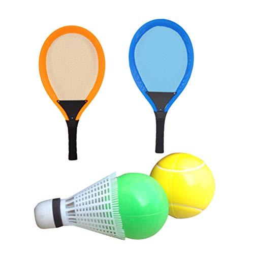 LIOOBO en Plein air Badminton Raquettes De Tennis Set Jeu De Sport Jouets Enfants Jouent Jeu Jeu Jouet Plage Sport