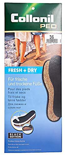 Collonil Fresh & Dry Black Edition Sohle Einlegesohle schwarz, 39