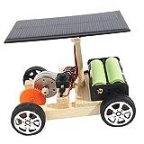 Sharplace Kit de Ciencia de Circuito de Motor Eléctrico- Modelo de DIY Coche Eléctrico Solar