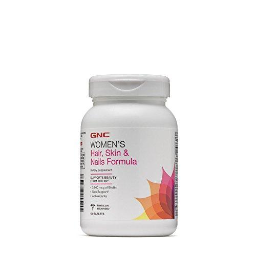 GNC Womens Hair, Skin Nails Formula 120 Tablets