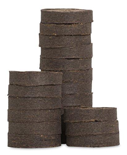 Windhager Quelltabs Anzuchttabs, Torfquelltabs für erfolgreiche Pflanzenanzucht, mit feinmaschigem Netz, aus Sphagum-Weißtorfen, 20 Stück, 05500