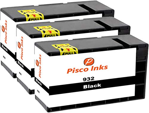 Ink Maxx – Cartucho de tinta refabricado para usar en lugar de HP 364XL ( pack de 3)