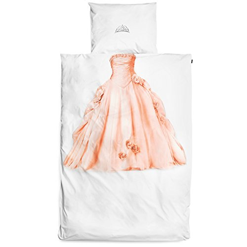 Snurk Parure de lit Princesse - 1 Personne 140x200 cm