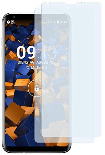 mumbi Schutzfolie kompatibel mit LG V30 Folie, V30S ThinQ Folie klar, Bildschirmschutzfolie (2x)