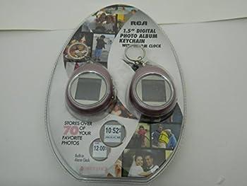 RCA 1.5  Digital Photo Album Keychain with Alarm Clock