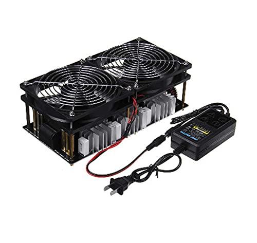 YEZIO Bricolaje Equipo, ZVS Calentador de inducción de Alta frecuencia, Horno de frecuencia Intermedia de Alta Potencia de 2500W sin Grifo DC48V 50A