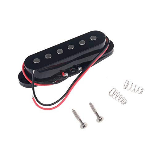 Musiclily 50MM Single Coil Pickup Middle Pickup for Fender Strat Squier Electric...