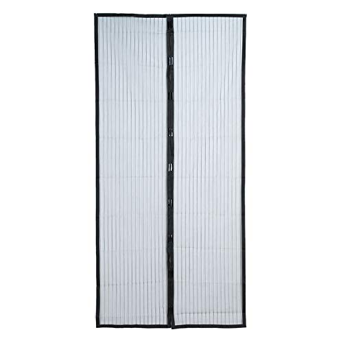 sunshine-xj Fly Bug Mosquito Net Magnetic Summer Anti Mosquito Curtains Door Window Net Netting Mesh Screen Protector Flyscreen Insect,Black,China