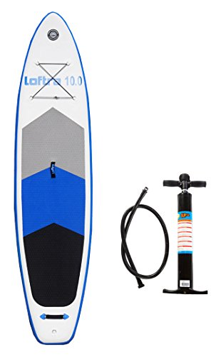 Loftra 10.0SUP 305x 81x 15cm Inflatable Stand Up Paddle Board + Pompa + Borsa ISUP Gonfiabile Paddle Surf Board Surf