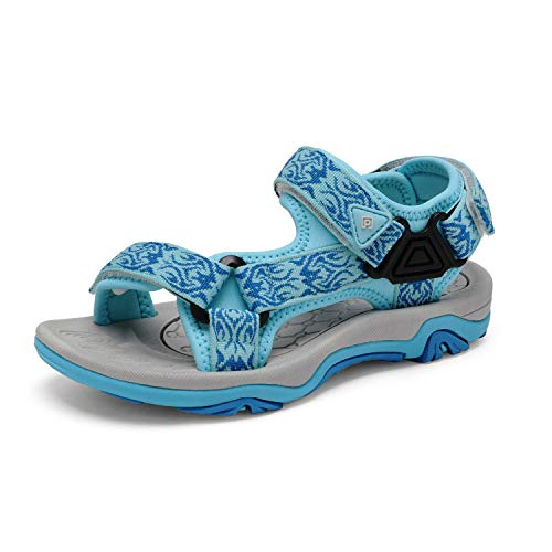 DREAM PAIRS Little Kid 170892-K Baby Blue Outdoor Summer Sandals Size 2 M US Little Kid