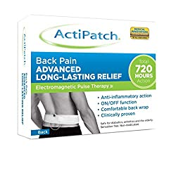 ActiPatch uses Electromagnetic Pulse Therapy to relieve pain and inflammation. Drug free-clinically proven, safe and effective. Low level and safe electromagnetic pulses stimulate cells to speed recovery Small, convenient and economical patch for per...