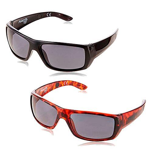 イーチャンス ポラライトHDサングラス 偏光 サングラス 偏光レンズ スポーツサングラス UV400 カット 釣り フィッシング 野球 登山 雪山 トレッキング 運転 ドライブ メンズ レディース ユニセックス 2個セット e-chance polaryt