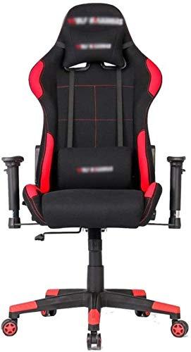 LIUBINGER E-Sports Sedia con Schienale Alto Sedia ergonomica Regolare Computer Racing Game Mobili for Ufficio di Lavoro Gaming70X70X125CM