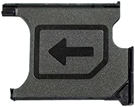 MMOBIEL SIM Card Tray Holder Slot Replacement Compatible with Sony Xperia Z1 / Z1 Compact Mini Black