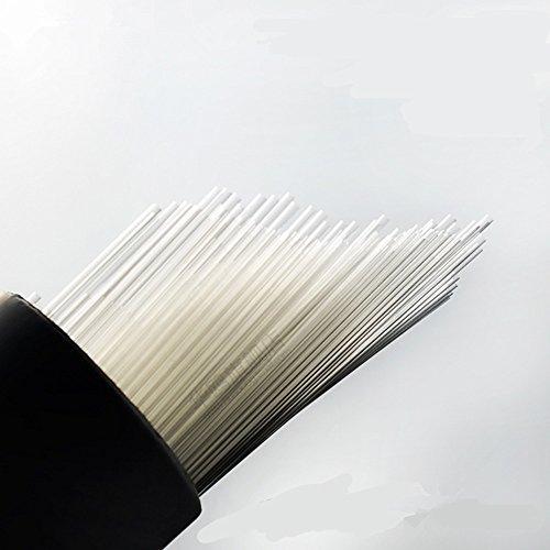 YUCHENGTECH Glaskapillarröhrchen 1000 Stück/Charge 100 mm Labor-Kapillarrohre ID 0,5 mm Außendurchmesser 0,7 mm Punkt Kapillarröhrchen offenes Ende