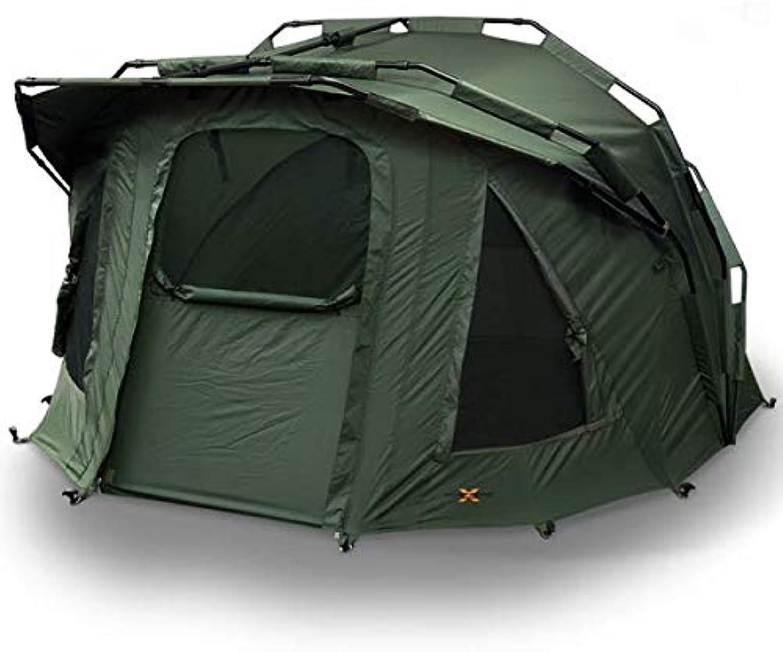 G8ds 2 Mann Bivvy Zelt Hood inklusive Tragetasche Camping Karpfenangeln Outdoor