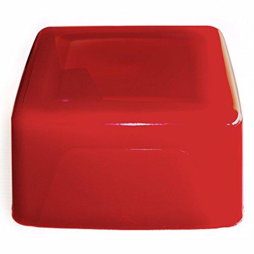 Seifenprofis Gietzeep ruwe zeep glycerine zeep - rood - 1 kg