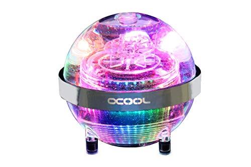 Alphacool 13324 Eisball Digital RGB - Acryl (inkl. Eispumpe VPP755 V.3) Wasserkühlung Ausgleichsbehälter