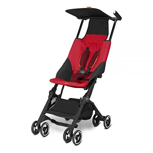 Gb Gold Pockit Buggy, dragonfire red