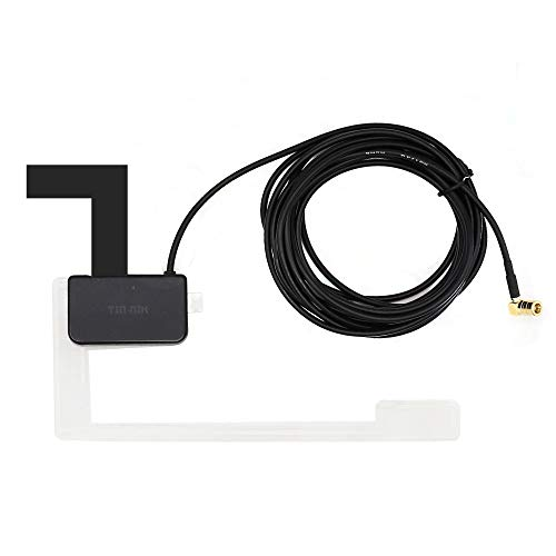 Tin-Nik DAB - Antena digital para coche DAB+ con adaptador SMB, cable...