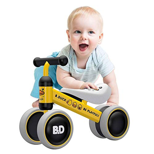 YGJT Baby Balance Bikes Bicycle Baby Walker Toys Rides for 1 Year Boys Girls 10 Months-24 Months Baby