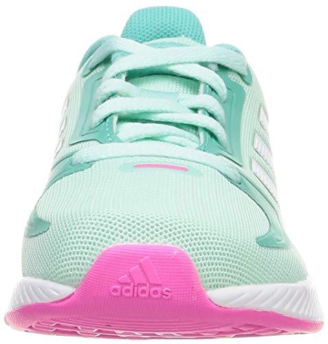 adidas RUNFALCON 2.0 K, Zapatillas de Running, MENCLA/FTWBLA/MENACI, 37 1/3 EU